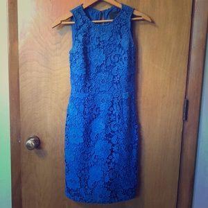 Women's JCrew Blue Lace dress